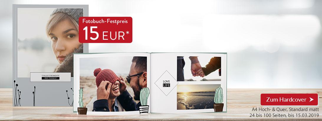 Fotobuch bis zu 100 Seiten / A4 / Hoch- und Querformat / Hardcover [Pixelnet]