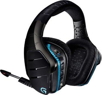 Logitech G933 kabelloses Gaming Headset (geschlossen, 7.1 Surround Sound, 2,4 Ghz & 3,5 mm Klinke, RGB LED Beleuchtung)