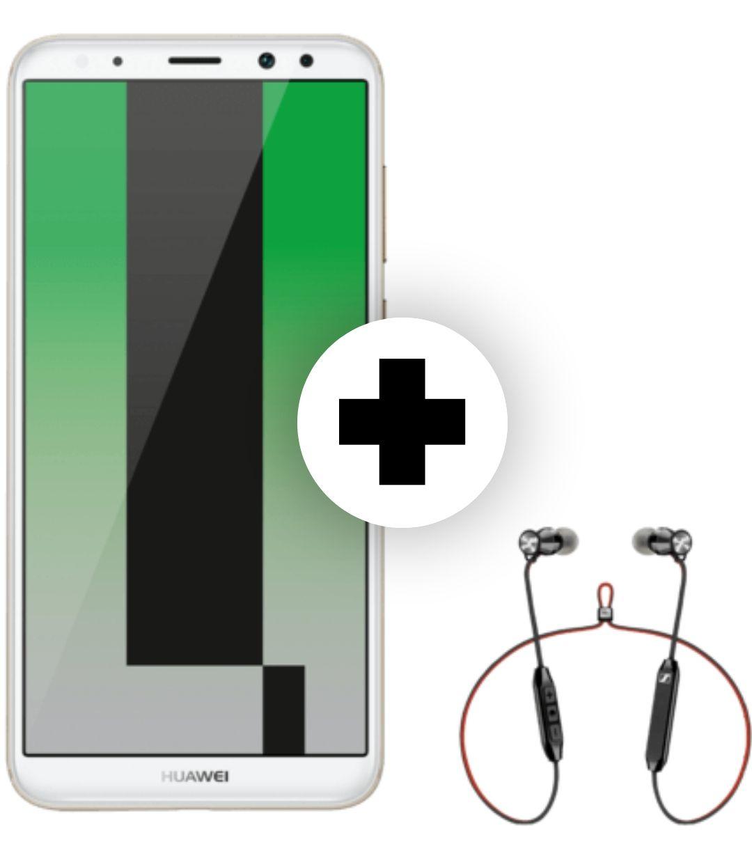Huawei Mate 10 Lite und Sennheiser Momentum Free im Superselect (O2, 3 gb LTE), 14,99€ mtl, 34,98€ einmalig