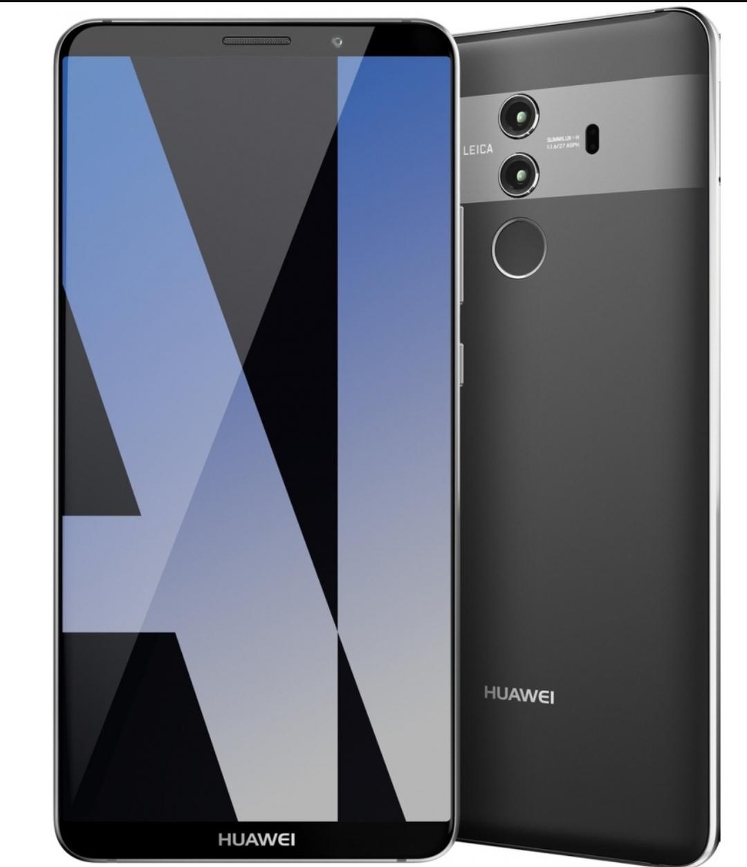 Huawei Mate 10 Pro 128GB/6GB RAM Single-SIM, OLED, USB-C, 4.000 mAh, Leica Dual-Kamera, grau