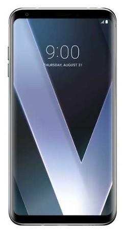LG V30 silber Smartphone (6 Zoll OLED, 64GB erweiterbar, NFC, IP68) [expert]