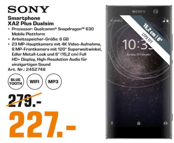 [Lokal: Saturn Mönchengladbach] Sony Xperia XA2 Plus | AVM FRITZ!DECT 301 für 37€ | Sony WH-H900N High-Res NC Kopfhörer für 149€
