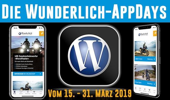 Wunderlich: 10% Rabatt und 5 Euro Willkommensbonus für erste App-Nutzung (BMW Motorrad)