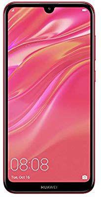 HUAWEI Y7 2019, Smartphone , 32 GB, Coral Red, Dual Sim (Amazon)