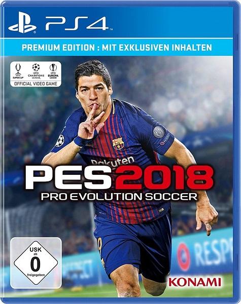 Pro Evolution Soccer 2018 (PES 2018) Premium Edition Ps4 Playstation 4 für 4,99€ + Versand