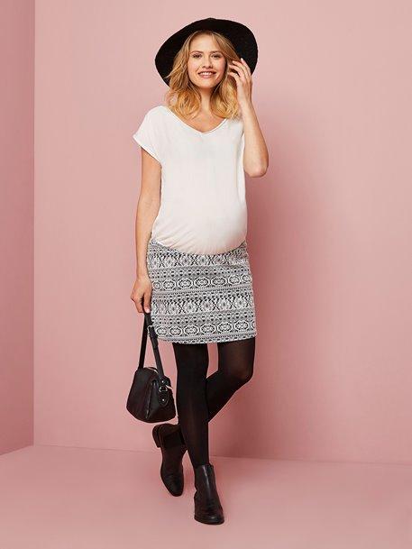 Schwangerschaftskleid mit 2-in-1 Effekt im Flash-Sale bei [vertbaudet]
