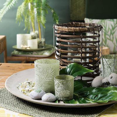 Power-Sale bei Depot mit über 200 ausgewählten Artikeln, z.B. Laterne aus Bambus und Glas