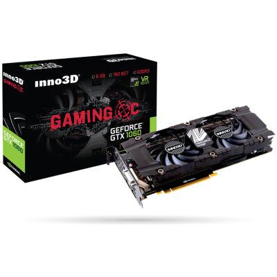 [NBB] Inno3D GTX1060 6GB Gaming OC Grafikkarte DVI/HDMI/3x DisplayPort