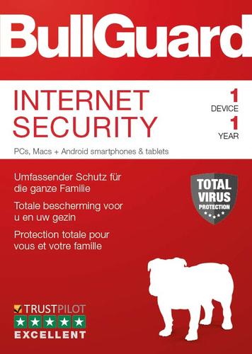 BullGuard Internet Security 2019 für 1 Benutzer / 12 Monate gratis