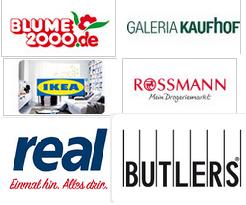 [CB] Viele verschiedene Geschenkgutscheine mit bis zu 20% Rabatt kaufen. U.A Real, Rossmann, Zalando & Ikea