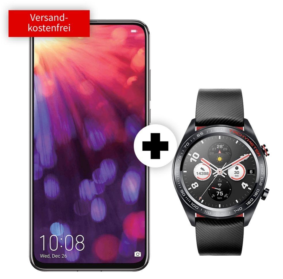 Honor View 20 und Watch Magic im SuperSelect (5GB LTE) für mtl. 19,99€ und 99€ einmalig oder 1 GB LTE Vertrag für 568,75€