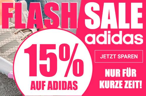 15% auf Adidas Flash Sale - bei gebrüder götz