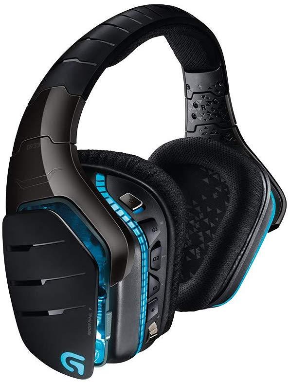 Logitech G933 Artemis Spectrum kabelloses Gaming-Headset - 7.1 Surround Sound Pro (Amazon UK)