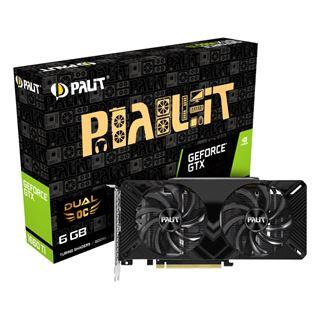 6GB Palit GeForce GTX1660Ti Dual OC 249€ von 0-6 Uhr