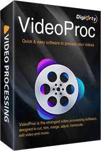 kostenlos Videoschnitt Software (Videoproc) PC- Welt