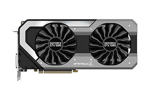 Palit GeForce GTX 1080 JetStream - Grafikkarten - GF GTX 1080 - 8 GB GDDR5X