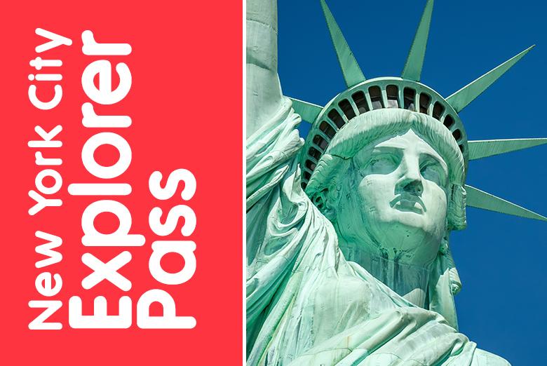 [Groupon NL] New York Explorer Pass für 3/5/7/10 Attraktionen (z.B. 5 Attraktionen für 98,60€)