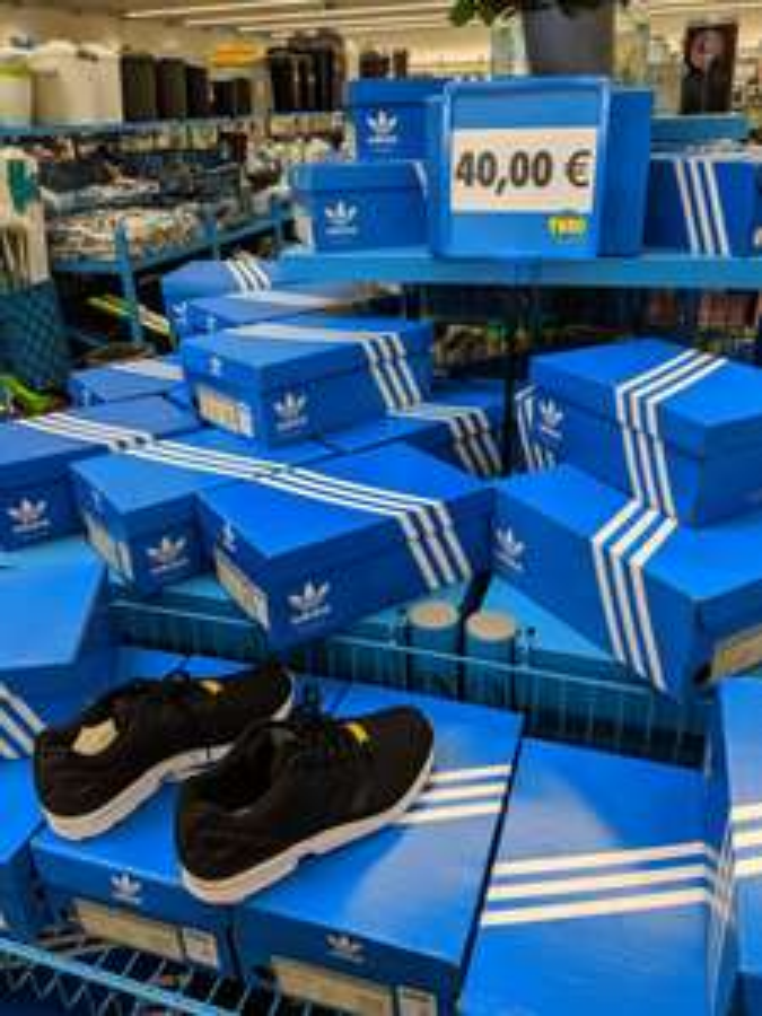 [Lokal Tedi Groß-Gerau] Adidas ZX Flux black/white für 40€