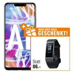 HUAWEI Mate 20 lite Smartphone + HUAWEI Band 3 Pro Fitnesstracker *SATURN*