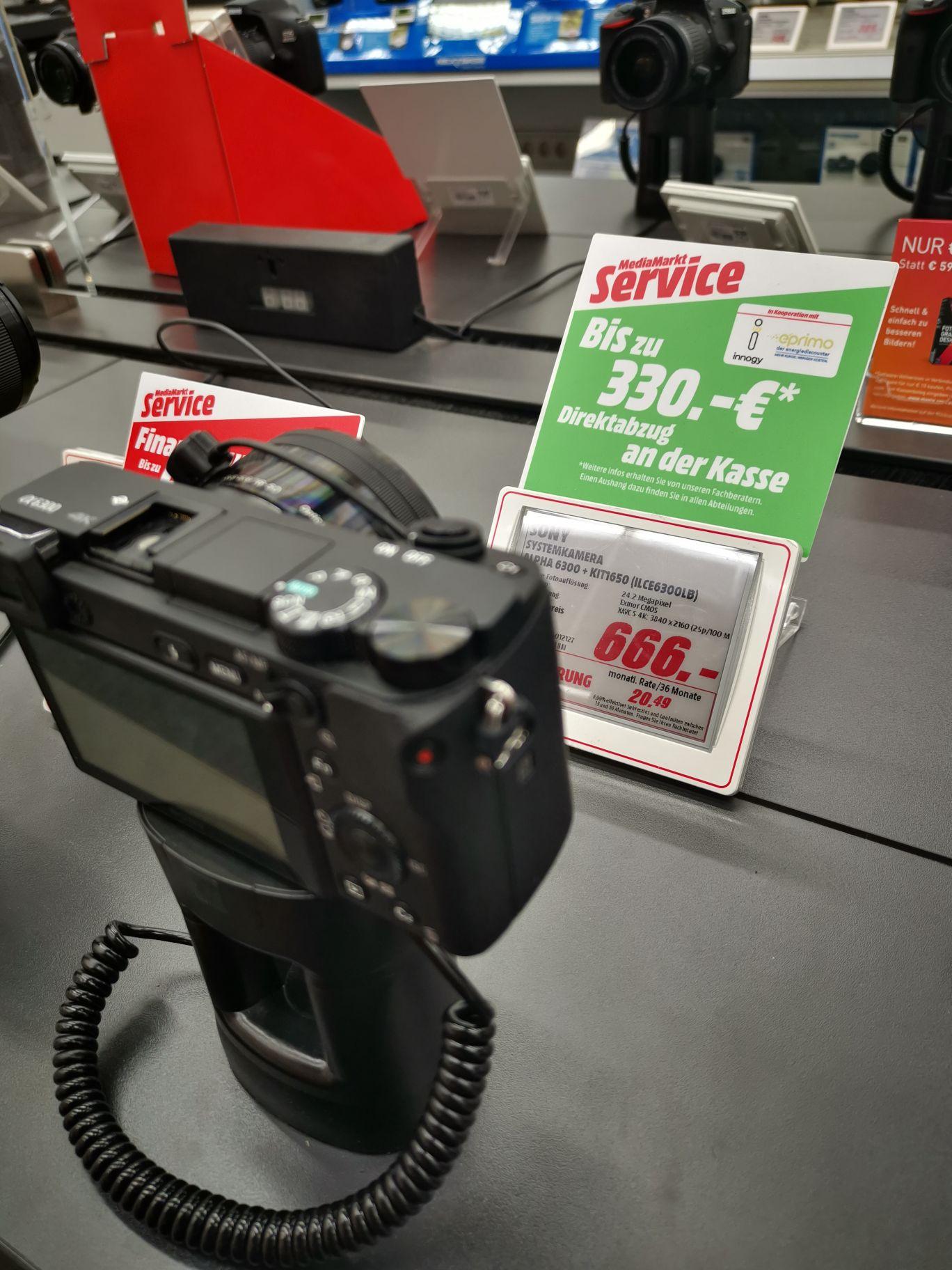 Sony Alpha 6300 Kit LOKAL Mülheim an der Ruhr