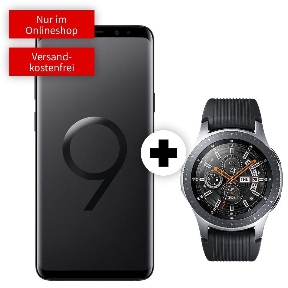 Samsung Galaxy S9 Plus und Watch 46mm BT im Debitel Vodafone (4GB LTE, Allnet) mtl. 26,99€ und 79€ einmalig (49€ mit S9)