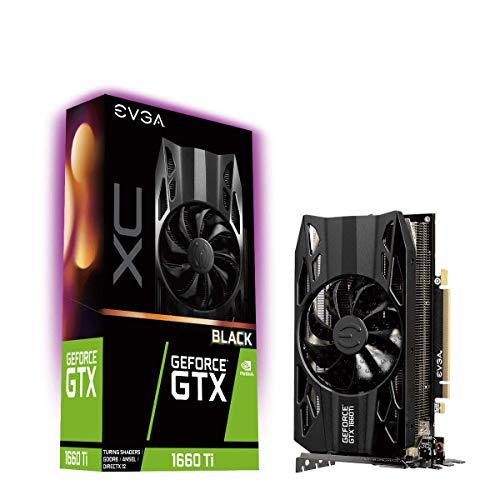 EVGA GeForce GTX 1660 Ti XC Black Gaming (6GB GDDR6, HDB Lüfter) - Empfehle eher 1070 :)