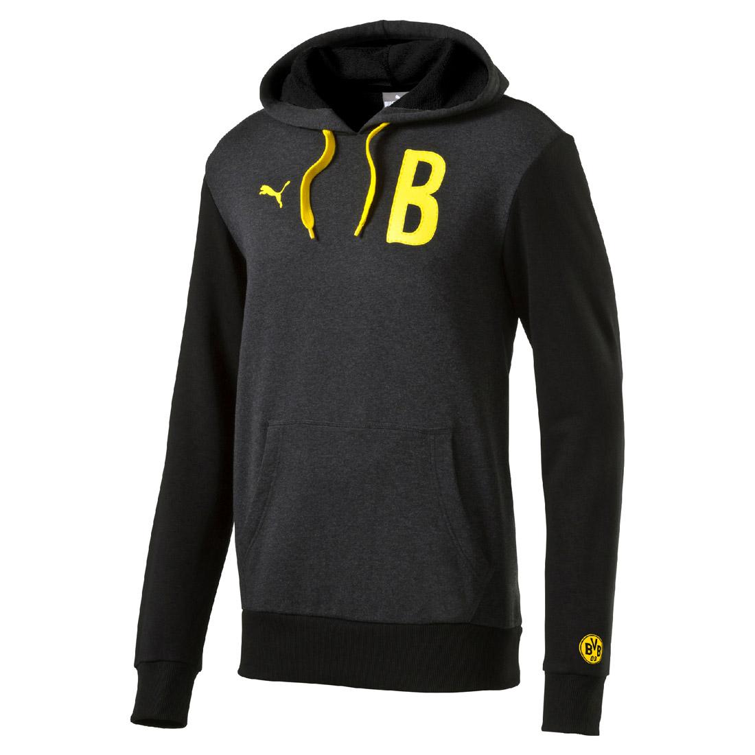 "Puma BVB Borussia Graphic ""B"" Hoody Herren Sweatshirt Dortmund Gr M&XL  @sneakerprofi"