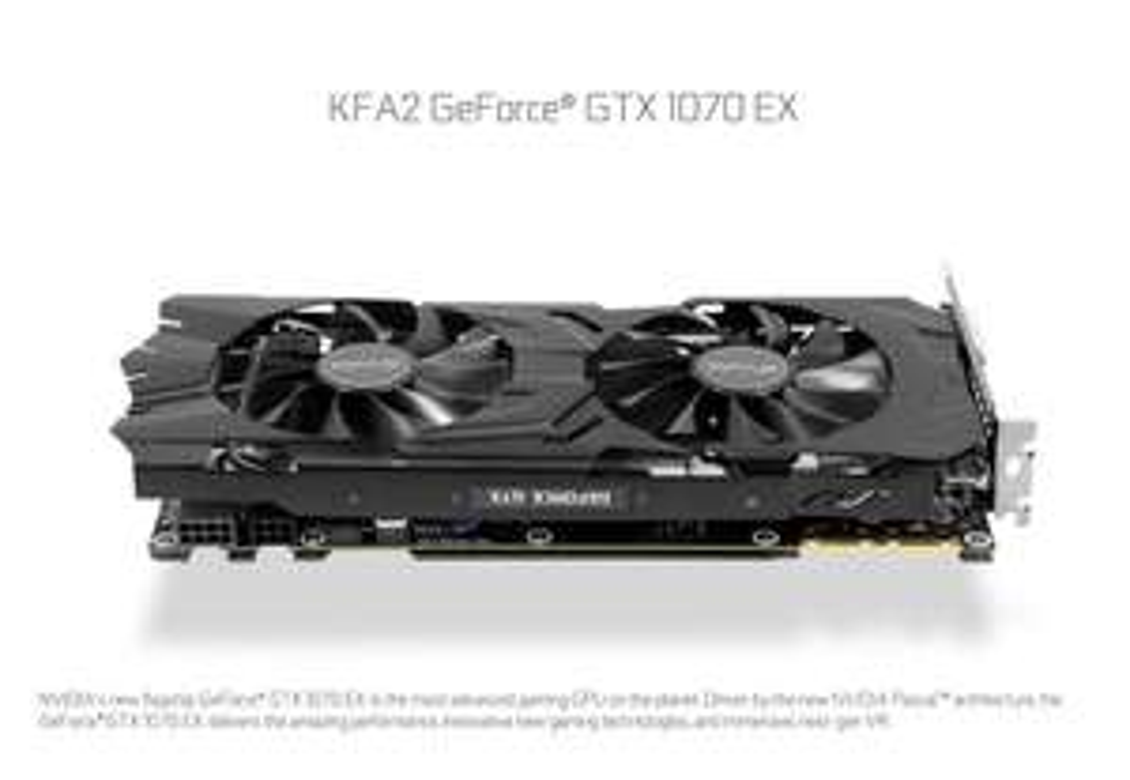KFA2 GeForce GTX 1070 EX