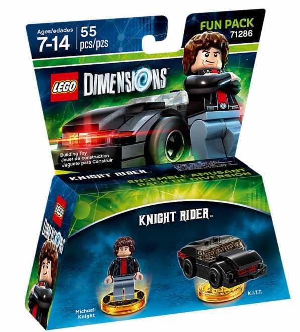 Lego 71286 - Knight Rider / K.I.T.T. für 7,50 Euro + Versand 4,99