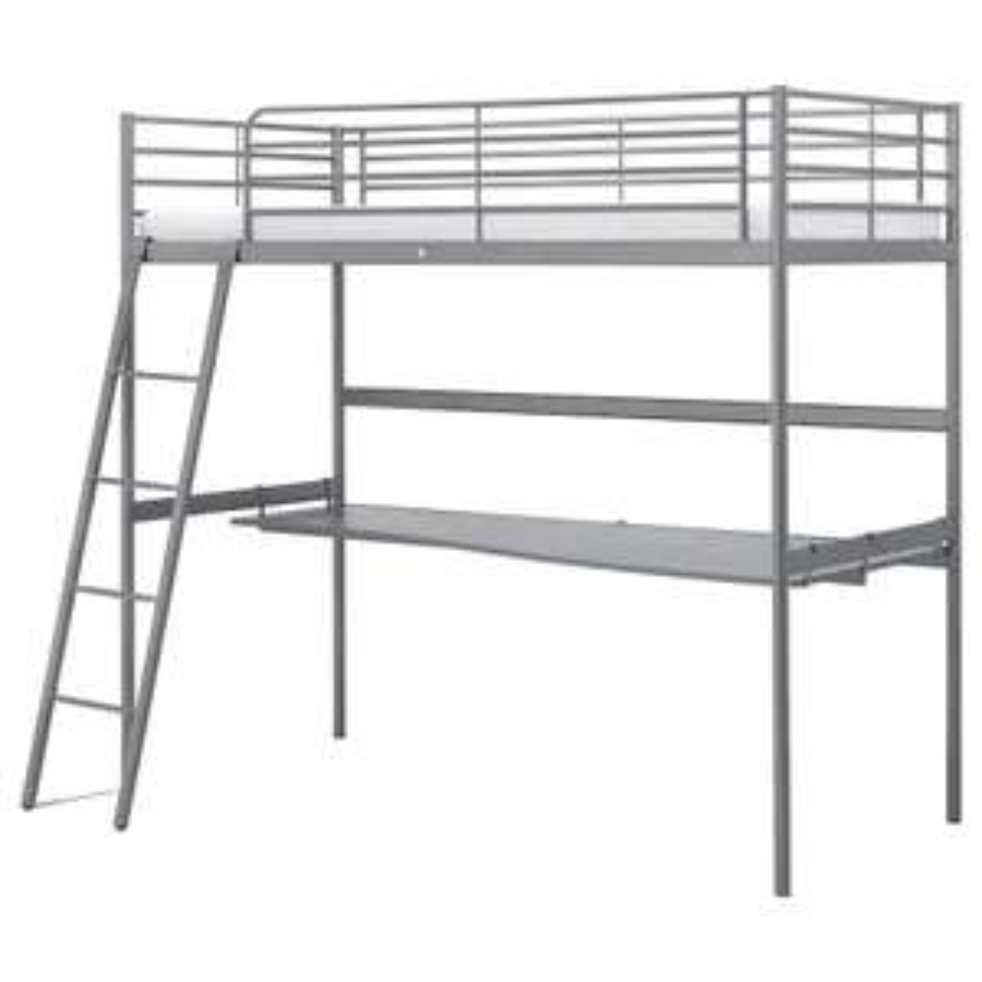 [IKEA OS] SVÄRTA Hochbett mit Schreibtisch für 198€ statt 218€