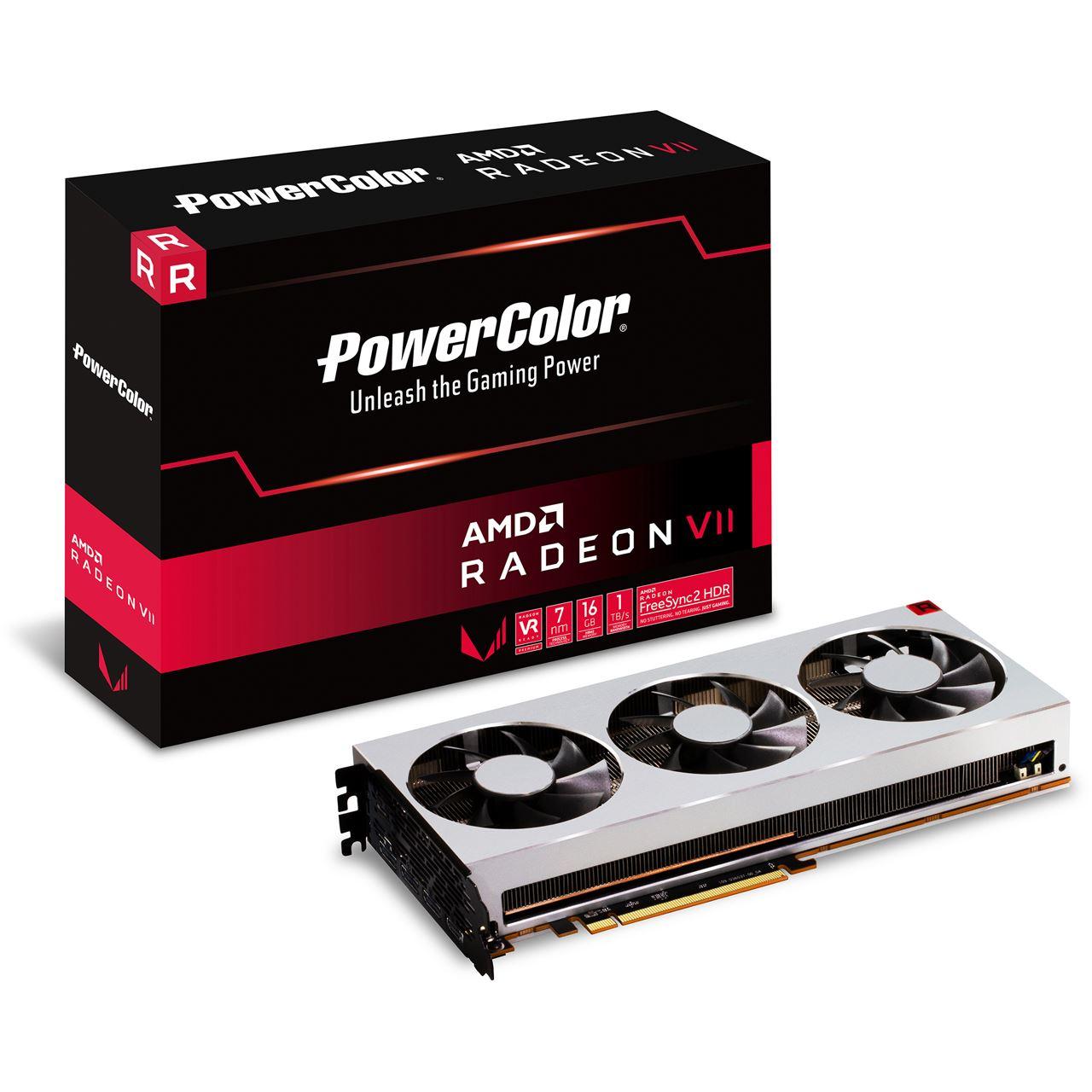 16GB PowerColor Radeon VII für 599€ + 8,90€ VSK
