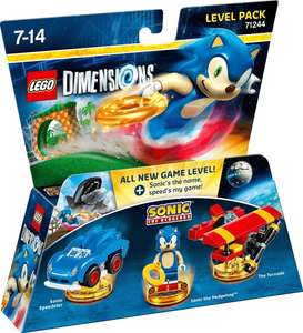 lego sale hat aufgestockt z.B. Sonic the Hedgehog™ – Level-Paket für Lego Dimensions
