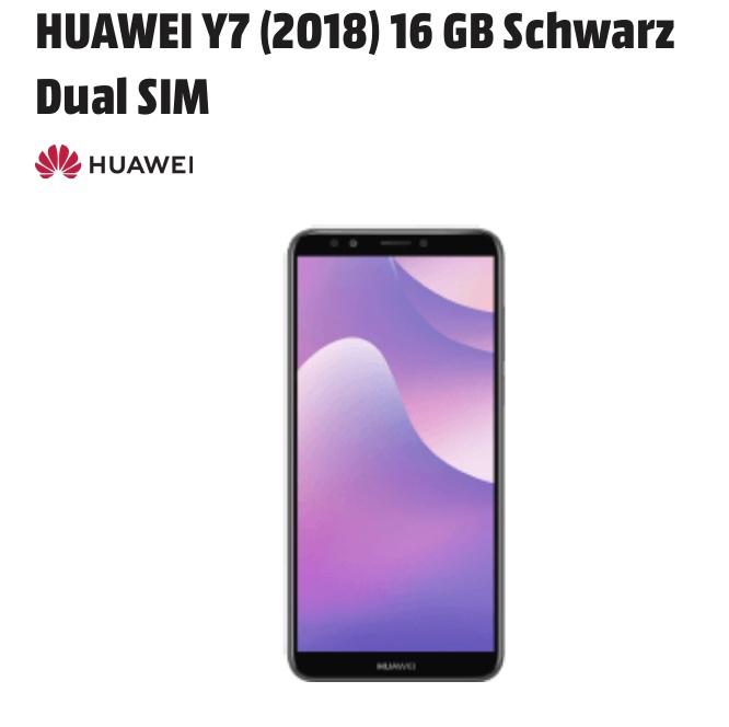 Huawei Y7 2018 zum Bestpreis