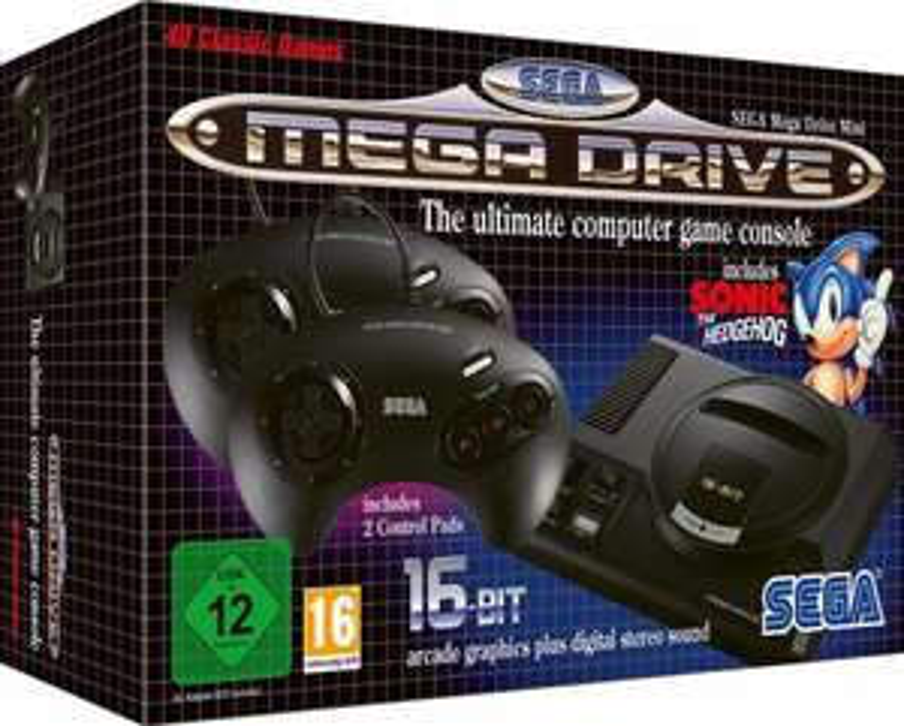 SEGA Mega Drive Mini für 61,34€ (Media Markt)