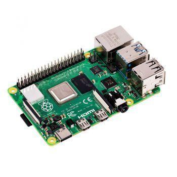 Raspberry Pi 4 B 4GB Board plus E-Book & Shop Gutschein
