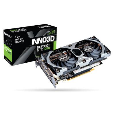 INNO3D GeForce GTX 1060 6GB GDDR5X Gaming OC inkl. Shadow of the Tomb Raider