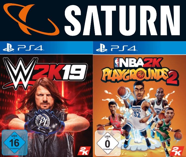 EWD Games: z.B. WWE 2K19 oder NBA 2K Playgrounds 2 [PS4] - je 9€ | Red Dead Redemption 2 - 29€ | Sid Meier's Civilization VI [Switch] - 26€