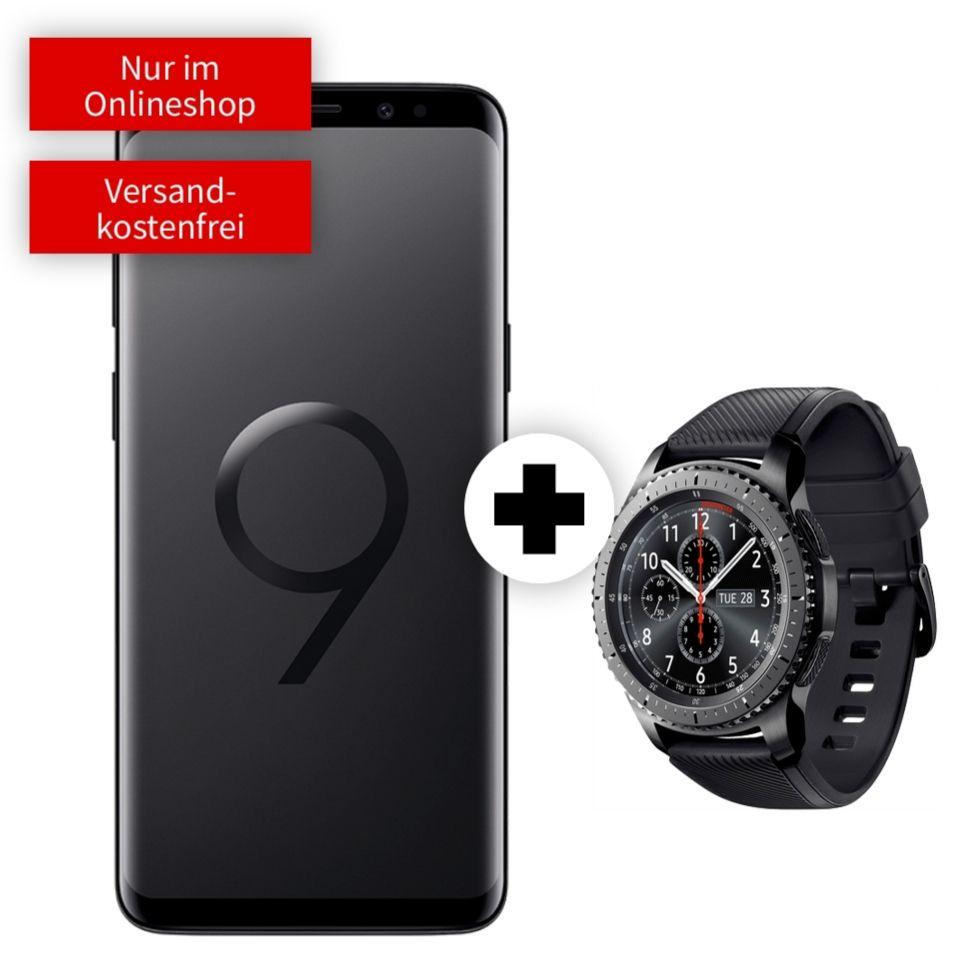 Watch Samsung Galaxy S3 Frontier im Debitel Vodafone (6GB LTE/Allnet) für 21,99€ mtl. mit S9 Lila für 49€