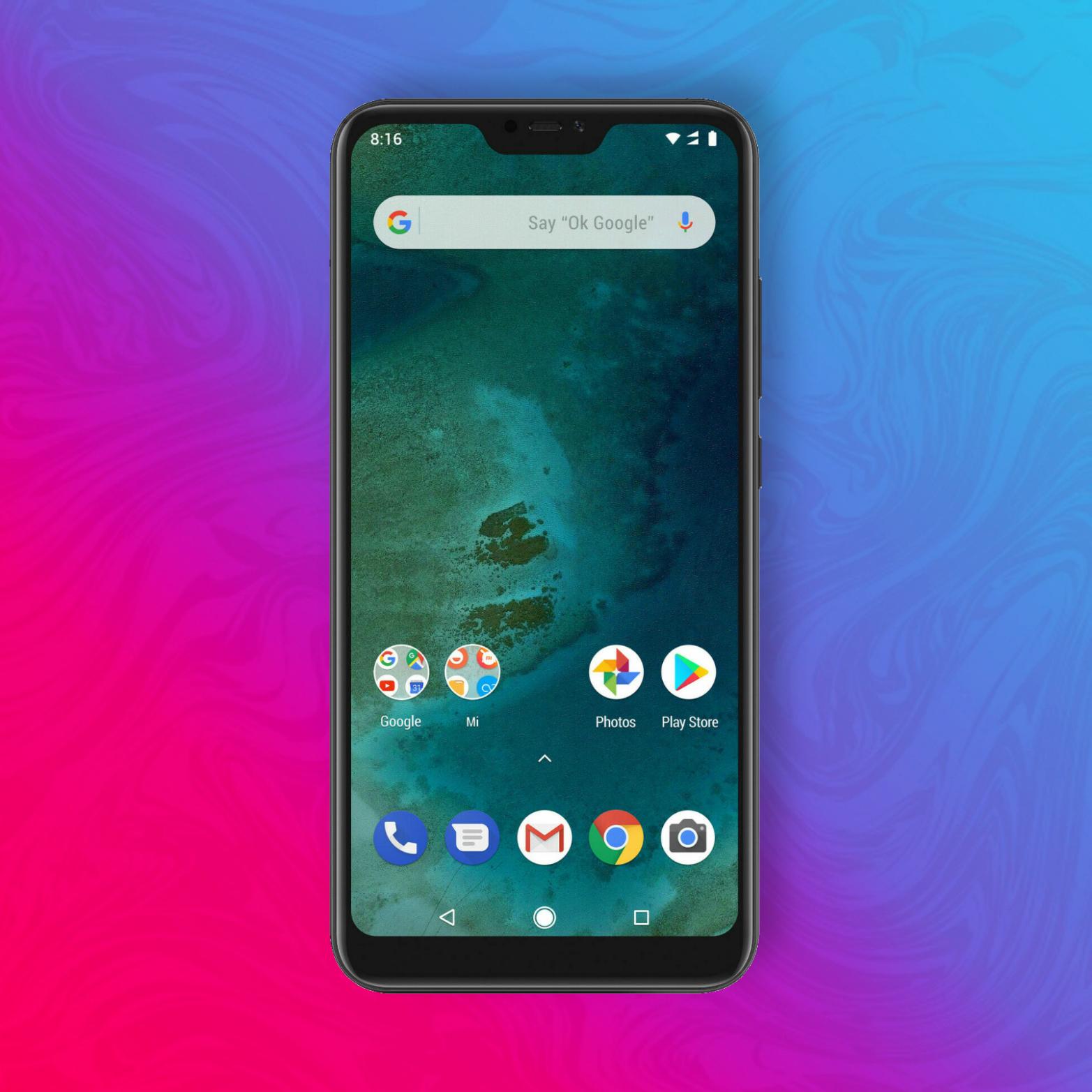 Xiaomi Mi A2 Lite 32/3GB - Snapdragon 625 - 12MP/5MP - 4000mAh Akku - Triple Slot | V&V durch Amazon