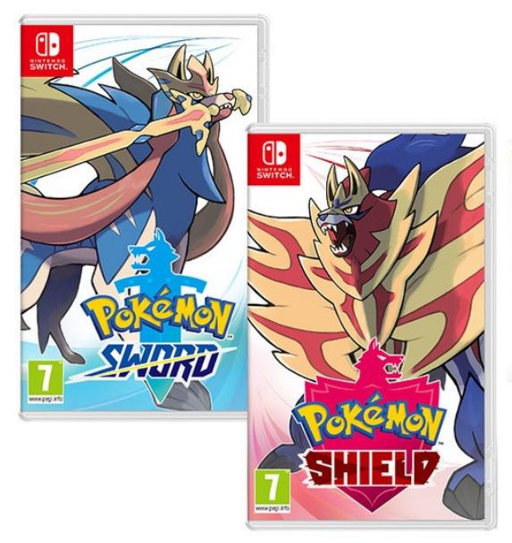 Pokémon: Schwert (Switch) oder Pokémon: Schild (Switch) inkl. Limited Edition Steelbook für 44,32€ (Shopto)