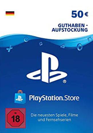 50 € Playstation (PSN) Guthaben für 42,65€ (GameLaden)