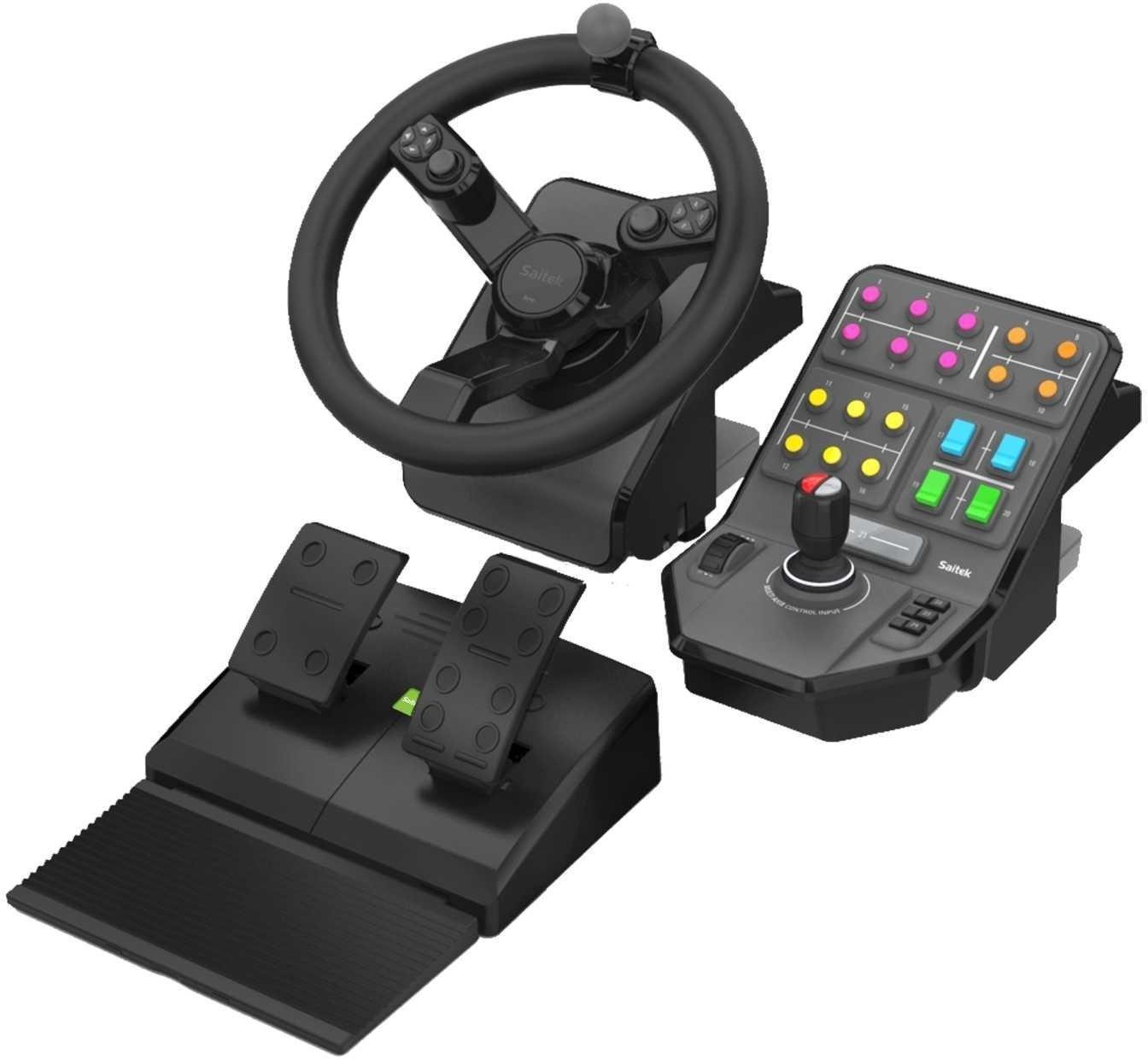 Gaming-Zubehör: z.B. Logitech G Farming Simulator Controller Bundle - 139€   Logitech G502 Proteus Spectrum Maus - 37€   Z333 Boxen - 29€