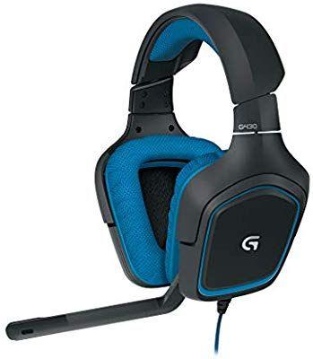Logitech G430 Gaming Kopfhörer (Dolby 7.1 Surround Sound für PC ) blau [Saturn & Amazon]