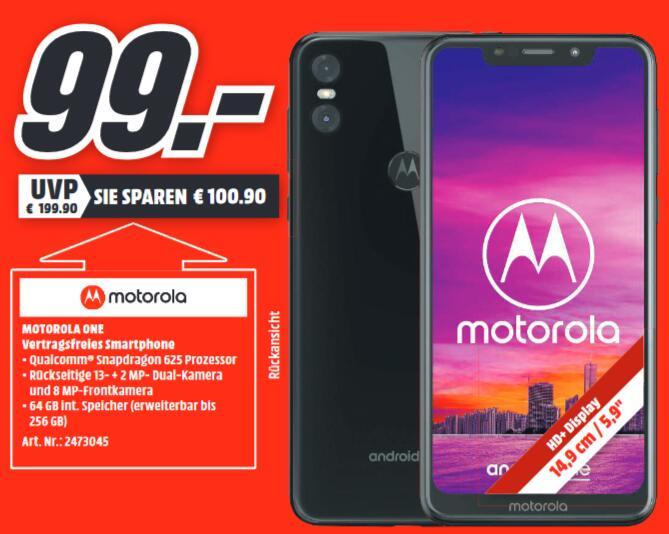 [Lokal: Media Markt Gießen] Motorola Moto One black = 99€ | Sony Xperia XA2 Plus = 149€ | ausverkauft: Google Pixel 3XL 64GB für 399€