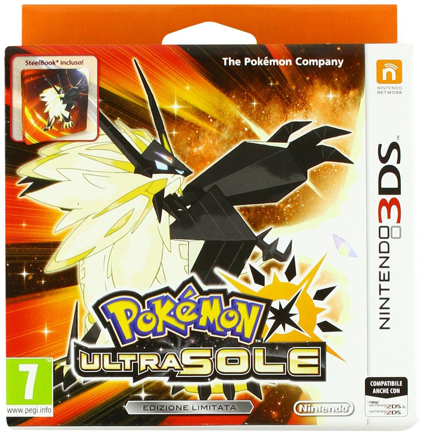 Pokémon: Ultrasonne & Ultramond - Fan-Edition (3DS) für je 22,78€ (Amazon IT)