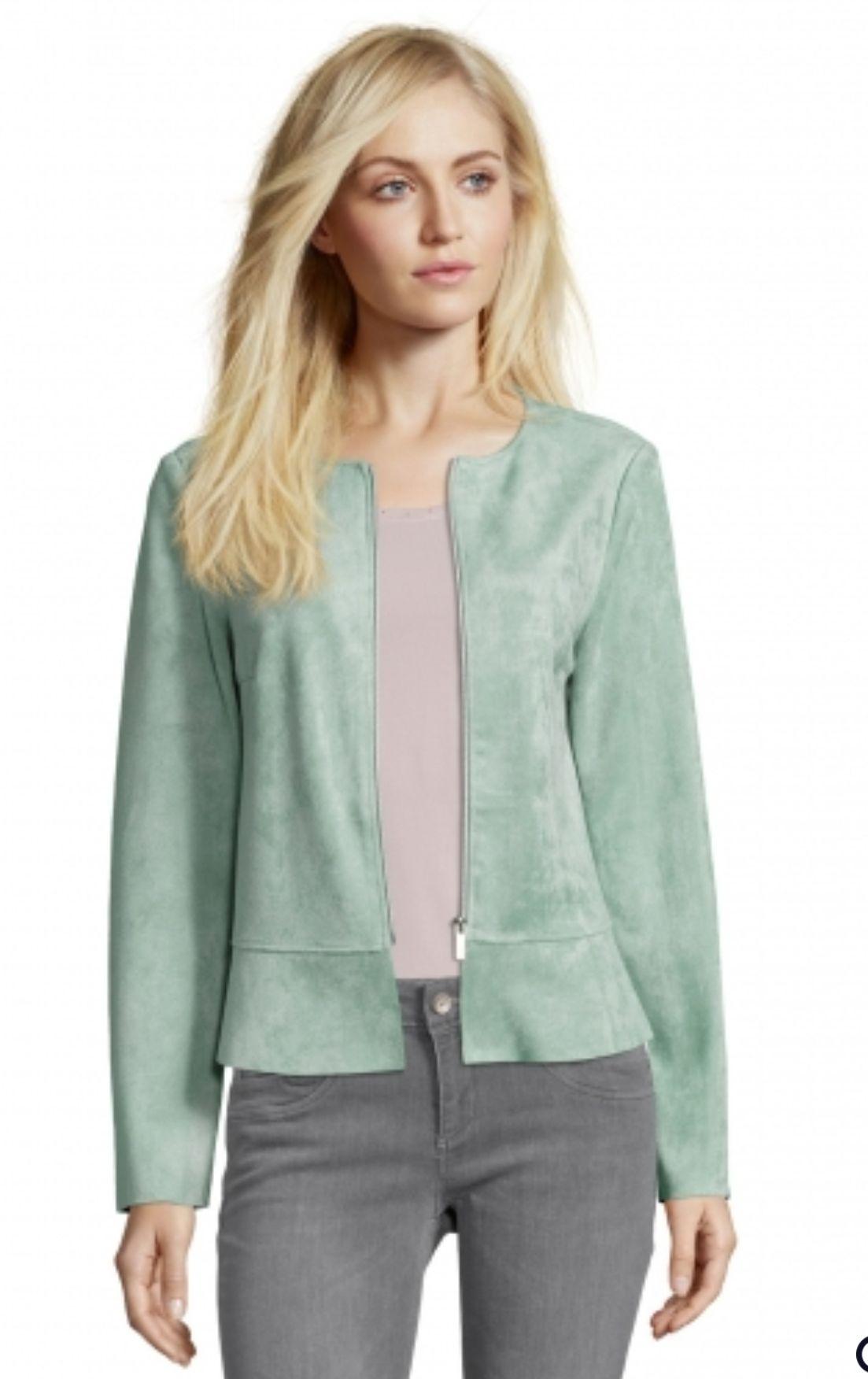 Betty Barclay Leichte Jacke GR. 36/40/48 für Damen mit Reißverschluss versandkostenfrei Online Verfügbar in 3 Grössen vorhanden