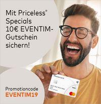 10 € Eventim Gutschein für Registrierung bei Priceless Specials Mastercard