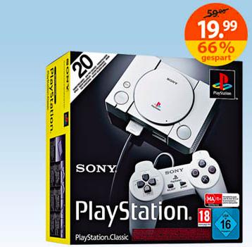 [Müller] Playstation Classic für 19,99 € (nur Filiale, ab 19.08.-25.08.)