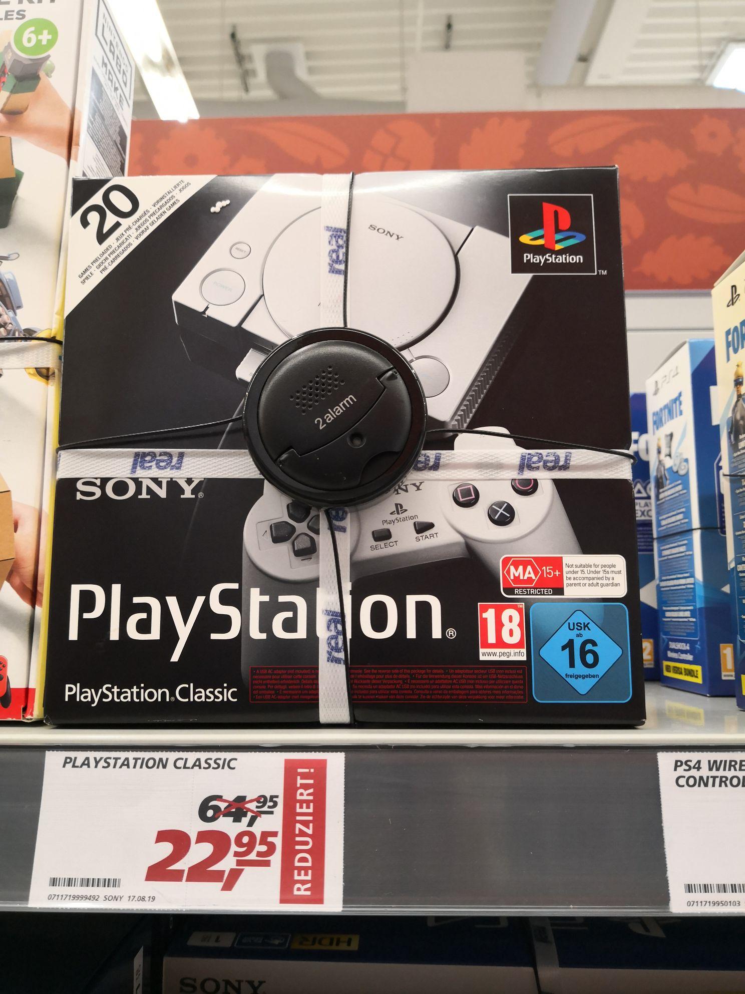 Playstation classic Mini bei real Rosenheim für 22,95 €
