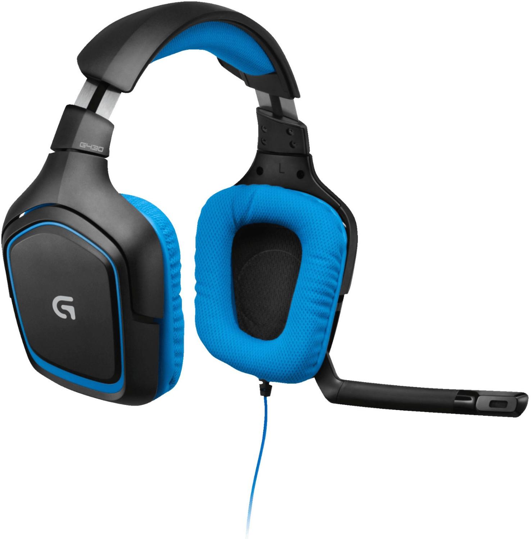 Logitech G430 Gaming Headset Dolby 7.1 Surround Sound (PC/PS4/Xbox One) für 29€